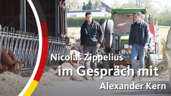 Nicolas Zippelius im Gespräch mit Alexander Kern
